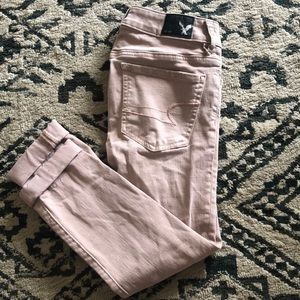 American Eagle Outfitters Jegging Crop Jeans